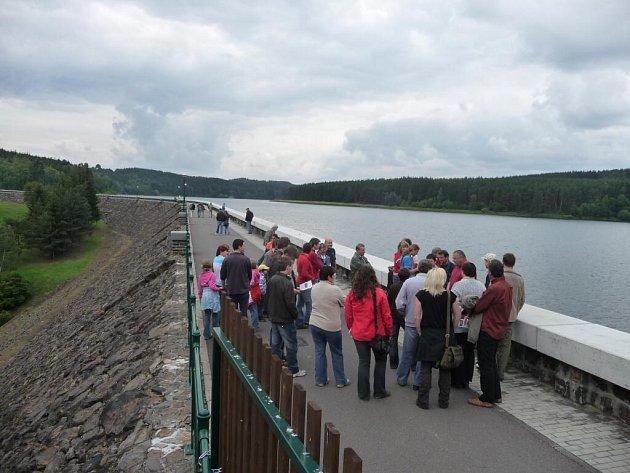 Prohlídka přehrady Mostiště.