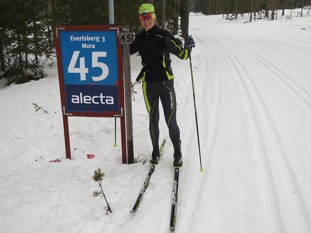 Adéle Boudíkové pomohla týdenní příprava ve Švédsku k 15. místu ve Vasově běhu. Z českých závodnic byla nejlepší.