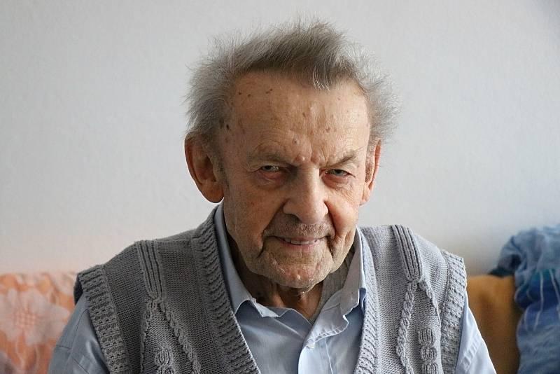 Jaroslav Jenerál tráví podzim svého života v novoměstském Domě s pečovatelskou službou.