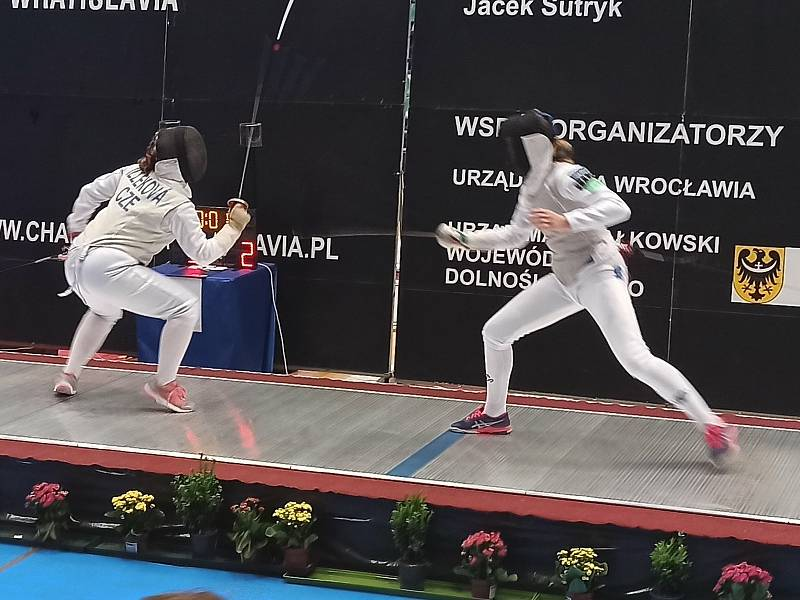 Fleretistka Kateřina Illeková z Bystřice nad Pernštejnem zvítězila na silně obsazeném mezinárodním turnaji v Polsku.