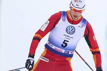VÍTĚZ. Martin Jakš potvrdil v neděli roli favorita. O mistrovském titulu rozhodl v posledním stoupání.