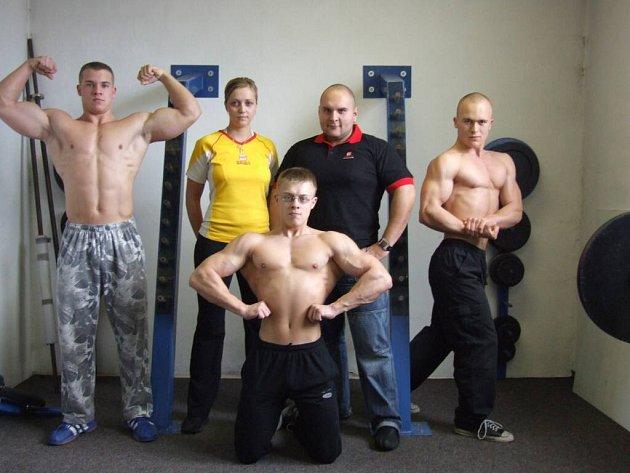 Tým Vladimíra Pajiče. Martin Smutek je vpravo.