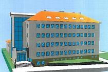V budově bývalého internátu bystřické zemědělské školy v Příční ulici již nyní sídlí některé odbory městského úřadu. Při stavebních úpravách objektu, následovaných sestěhováním veškerých odborů včetně vedení města, v budově vznikne i nový vchod (vlevo)