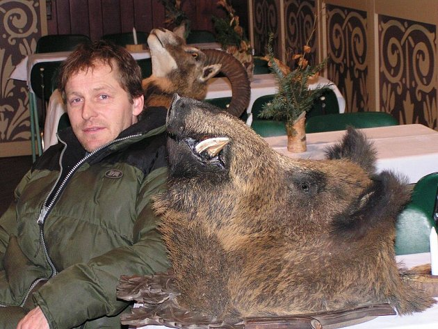 K místním nejlepším lovcům patří František Štursa.