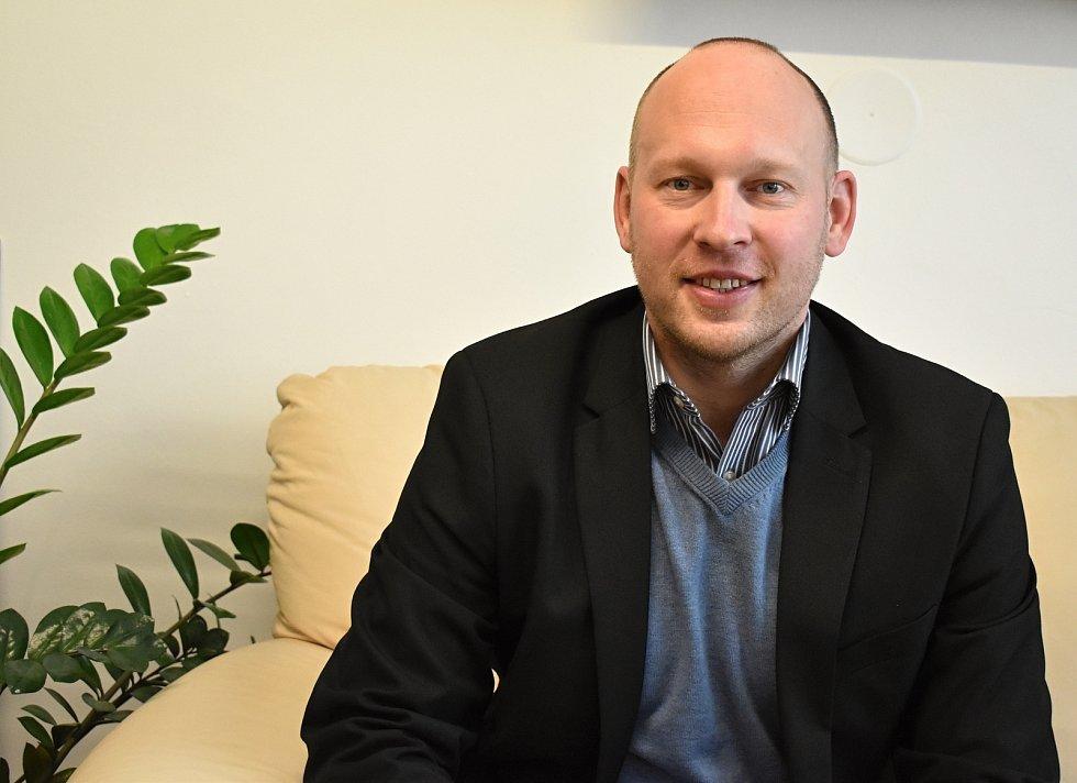 Martin Mrkos, starosta Žďáru nad Sázavou.