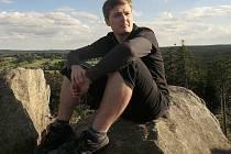 Čtyřiadvacetiletý student z Maršovic má malebnou krajinu Žďárských vrchů rád od dětství.
