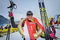 Lyžařka Adéla Boudíková proměnila oba své starty v rakouském St. Johanu ve vítězství.