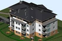 bytové domy mají vyrůst například i ve Žďáře nad Sázavou.
