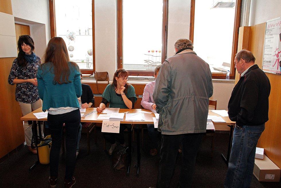 Referendum ve Velkém Meziříčí má své vlastní volební místnosti.