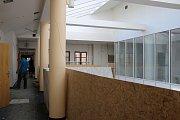 Někdejší budova Všeobecné pojišťovny bude po rekonstrukci sloužit umělecké škole.