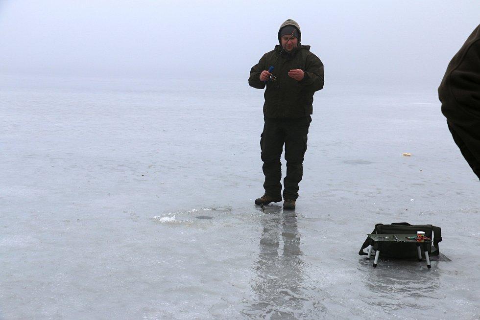 V zimě loví rybáři nejvíce pstruhy.