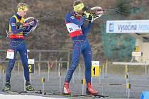 Vysočina Arena patřila opět biatlonu. Na víkendové MČR zavítalo téměř 200 závodníků.
