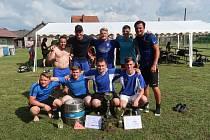 Jubilejní ročník Bohdaleckého Grand Cupu ovládlo mužstvo Borů.