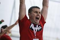 Pocitů radosti si trenér Nového Veselí Pavel Hladík (na snímku) v sezoně 2018/2019 užil dosyta.