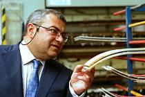 Arménský velvyslanec na Vysočině.