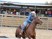 Westernové závody jsou divácky velmi atraktivní.
