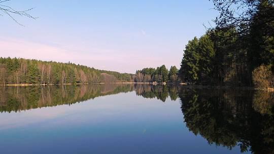 Domanínský rybník.