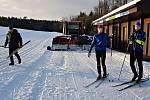 Na upravované okruhy pro běžecké lyžování v okolí Žďáru nad Sázavou míří i sportovci z Nového Města na Moravě.