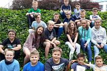 Školáci mezi sebou udělali sbírku na deštný prales.