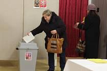 Volby ve Žďáře nad Sázavou - dům dětí a mládeže.