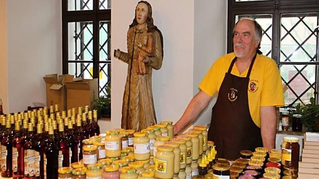 Prodejní včelařská výstava Vůně medu.