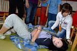 Děti předvedly, jak zvládají první pomoc