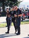 Svatováclavské setkání motorkářů ve Velké Bíteši.