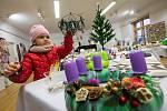 Vánoční prodejní výstava ve Velké Bíteši.
