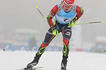 Michal Krčmář v zahajovacím závodě neuspěl. Sedmé místo ve sprintu mu zlepšilo náladu.