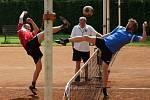 V dalším kole druhé ligy se nohejbalistům Žďáru nad Sázavou dařilo. V Přerově totiž zvítězili jednoznačným výsledkem 6:1.
