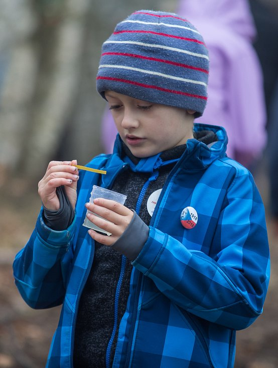 Nová přírodní učebna, v níž se budou moci školáci vzdělávat v oblasti ekovýchovy u Křižánek na Novoměstsku.