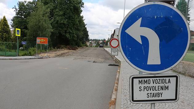 Tyršova ulice po rekonstrukci přirozeně ohraničí městskou památkovou zónu