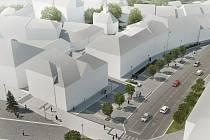 Nadcházející rekonstrukce se dotkne spodní části žďárského náměstí, město má na ni v rozpočtu vyčleněných dvanáct milionů korun.