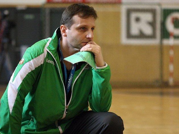 Trenér Nového Veselí Marek Michalisko vyhlíží domácí přípravný turnaj Memoriál Josefa Smékala.