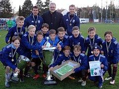 Triumf na mezinárodním turnaji mladších žáků ve Velké Bíteši vybojovali hráči německého Chemnitzu.