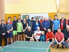 Mikulášský turnaj ve stolním tenise přilákal do Bohdalce téměř tři desítky hráčů. Nejlepším se stal Martin Horký, který ve finále porazil Libora Vencálka 3:1 na sety.