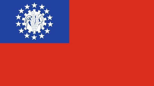 Vlajka Barmy