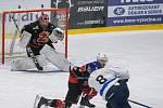 Utkání 3. kola čtvrtfinále II. ligy mezi SKLH Žďár nad Sázavou a HC Bobři Valašské Meziříčí.