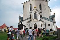 K největším lákadlům Žďárska patří žďárský kostel svatého Jana Nepomuckého.