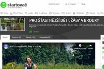 Podpořit přes takzvaný Startovač (portál startovac.cz).
