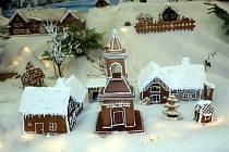 V Křižánkách si postavili a vystavili celou perníkovou vesnici.