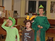 Rozsvícení vánočního stromečku v Pohledci předcházelo divcadelní představení.