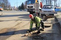 S rekonstrukcí Smetanovy ulice začalo město již v loňském roce.
