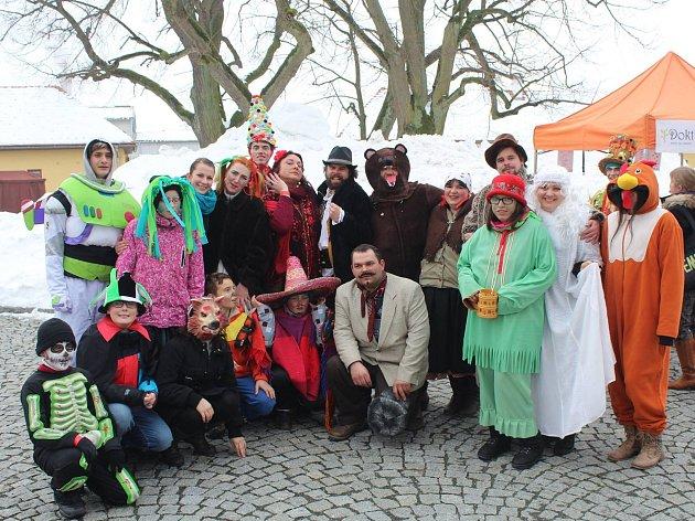 V sobotu se v bystřickém kulturním domě uskuteční první divadelní ples, letos na téma masopust.