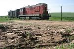 Kvůli povodni se také zastavila železniční doprava.