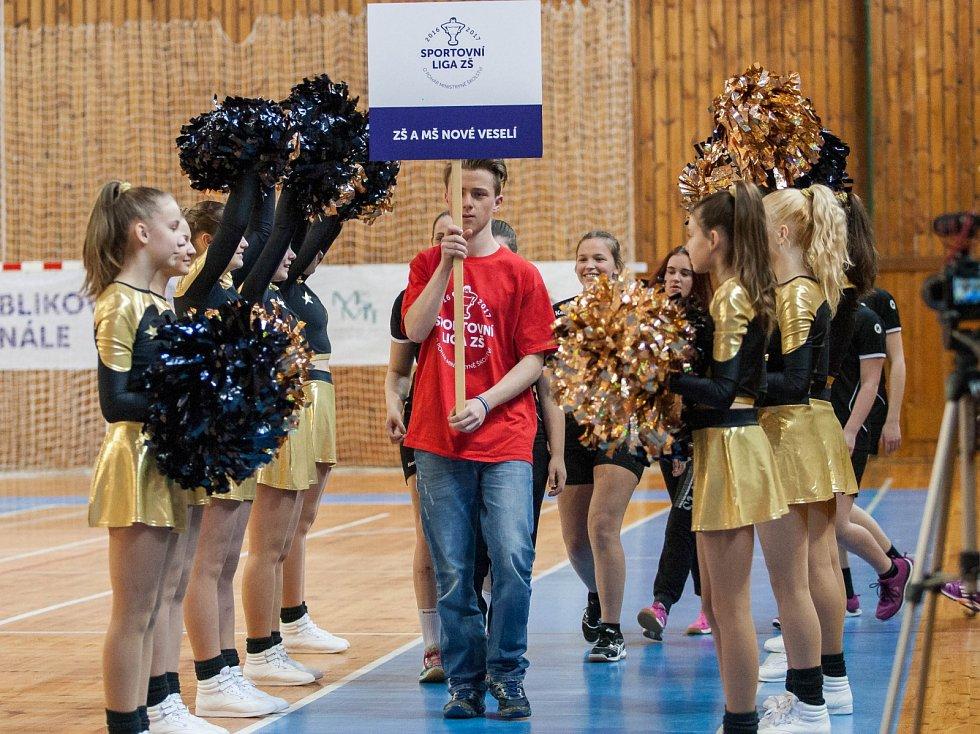 Slavnostní zahájení finále Sportovní ligy ZŠ O pohár ministryně školství. Deník je mediálním partnerem.