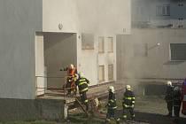 Ve Žďáře nad Sázavou hořel sklad zábavní pyrotechniky