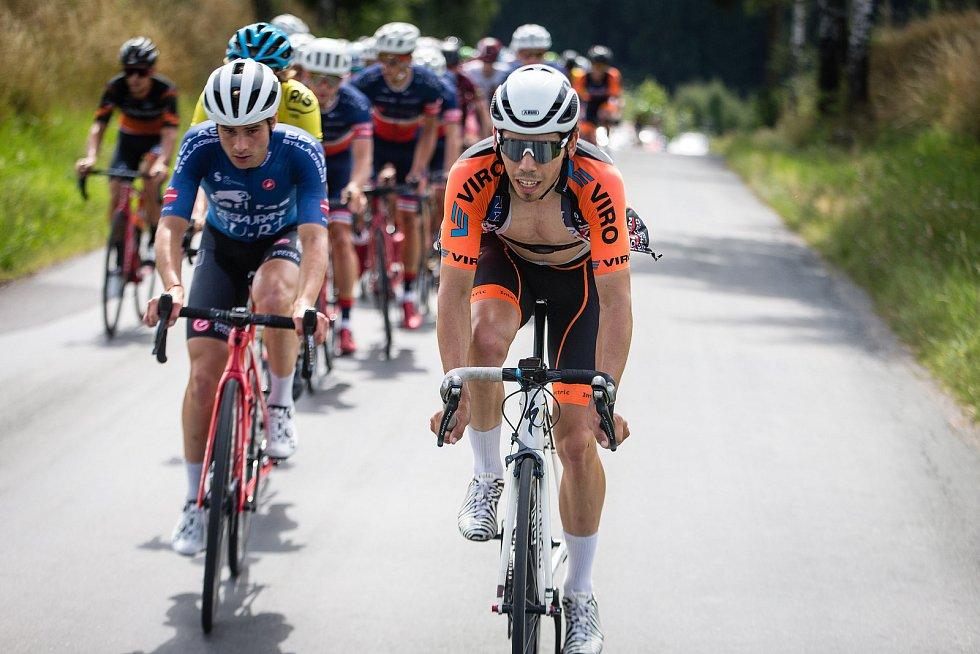 Cyklistický etapový závod mužů Vysočina 2021 ovládl Karel Tyrpekl.