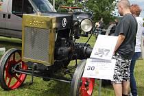 Traktorové veterány obdivovali malí i velcí.