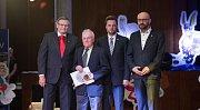Slavnostní vyhlášení ankety Sportovec Kraje Vysočina roku 2016.